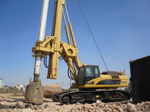 旋挖钻机证培训旋挖机一天能打多少米