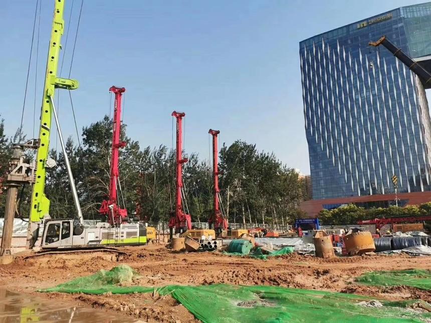 旋挖钻机教育基地,旋挖钻机工程县城明通支路南延长线建设进展如何