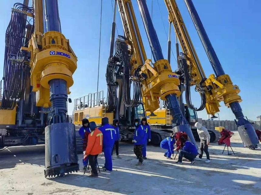 中联旋挖钻机培训基地