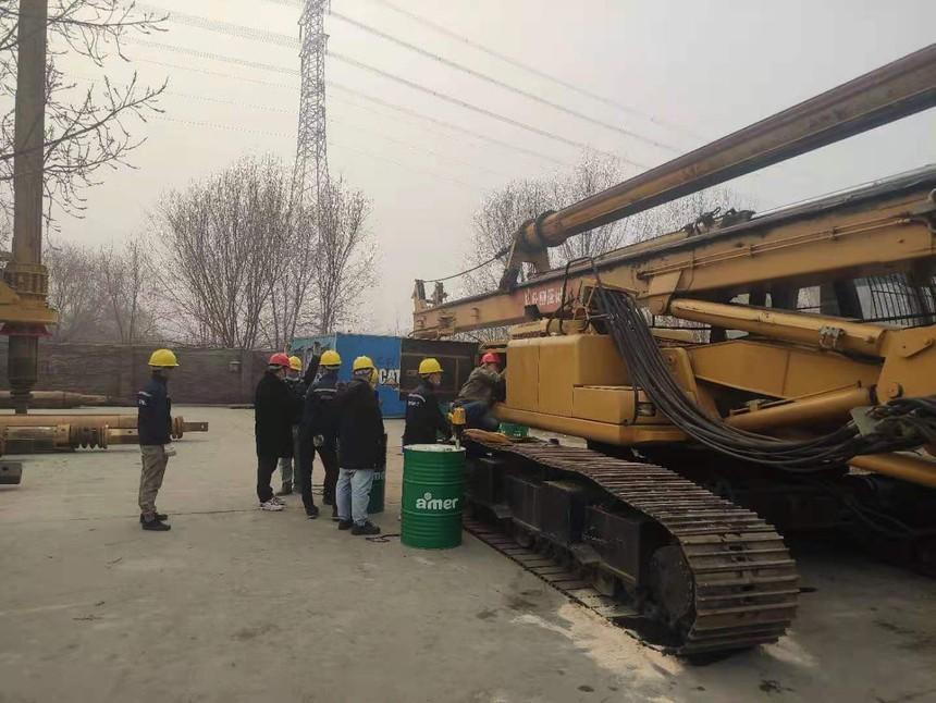 旋挖钻机机手学习长期施工主机的检修总结