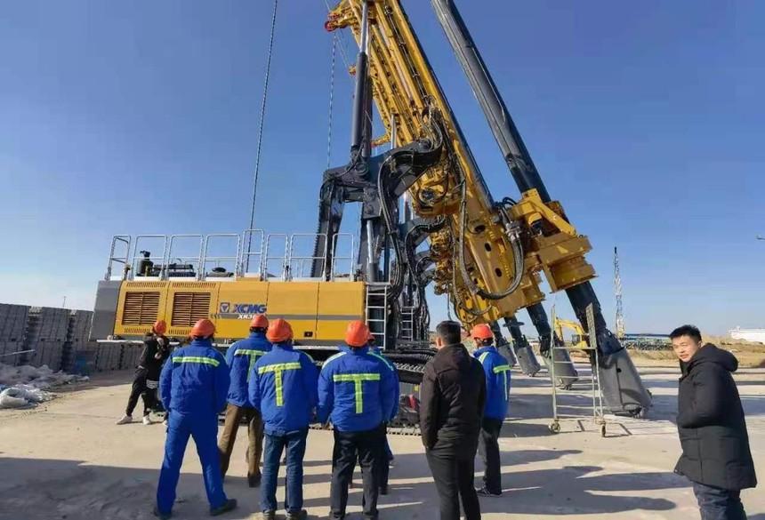 旋挖钻机免费培训学校交通强国征程中的徐工旋挖钻足迹