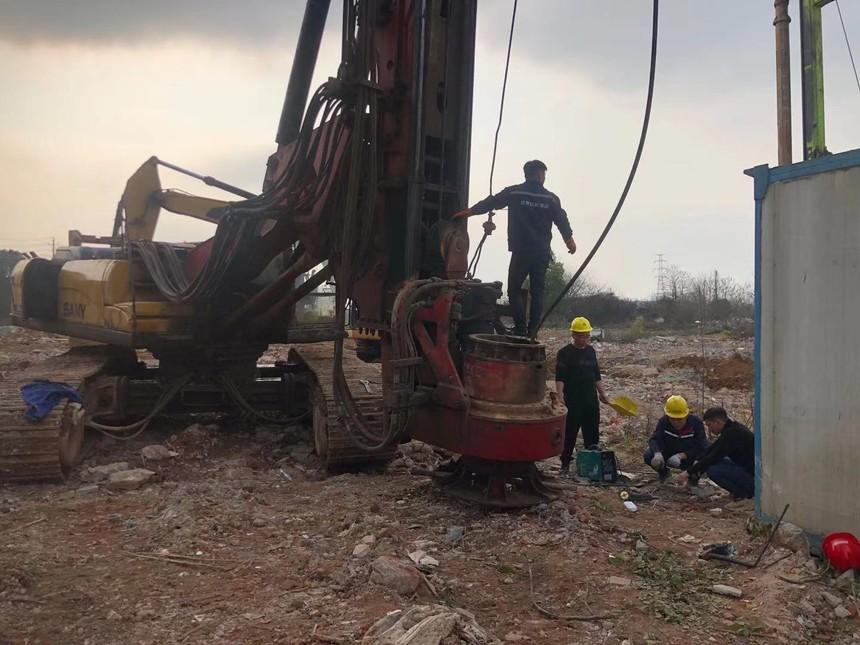 广州哪里可以培训旋挖机的旋挖钻机钢丝绳提断的原因