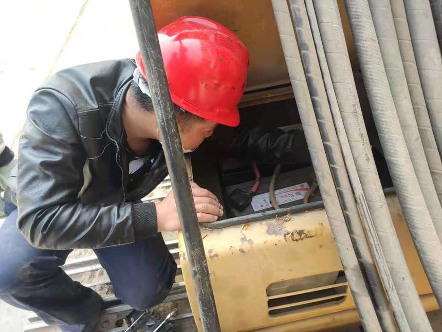 旋挖钻机机手培训学校打桩机怎么快速修理