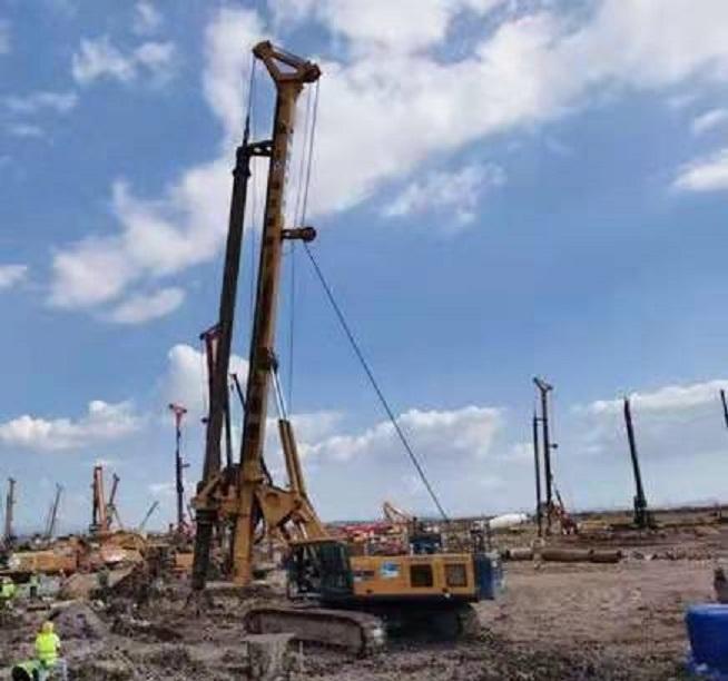 广西旋挖钻机培训基地徐工基础两产品再获发明专利授权