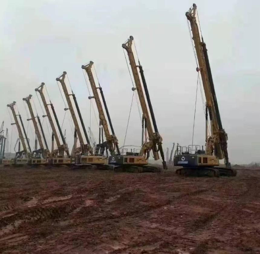 旋挖钻机学徒旋挖钻机履带保养与维护