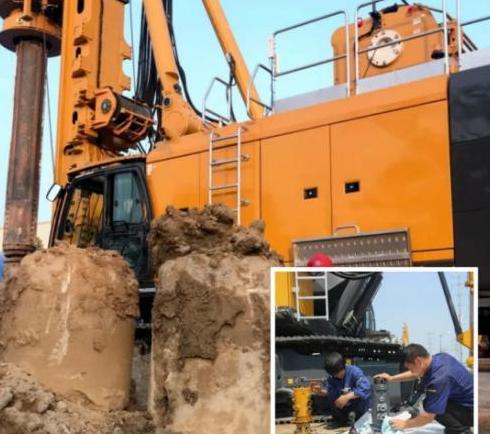 旋挖钻机机手培训基地旋挖机中期保养条例及注意事项