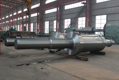 50MW气轮机转子粗车毛坯30C.jpg