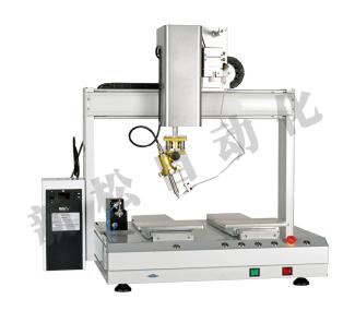 四轴双平台自动焊锡机