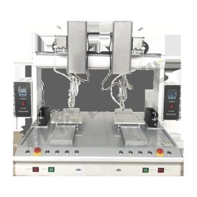 三轴双平台双头自动焊锡机