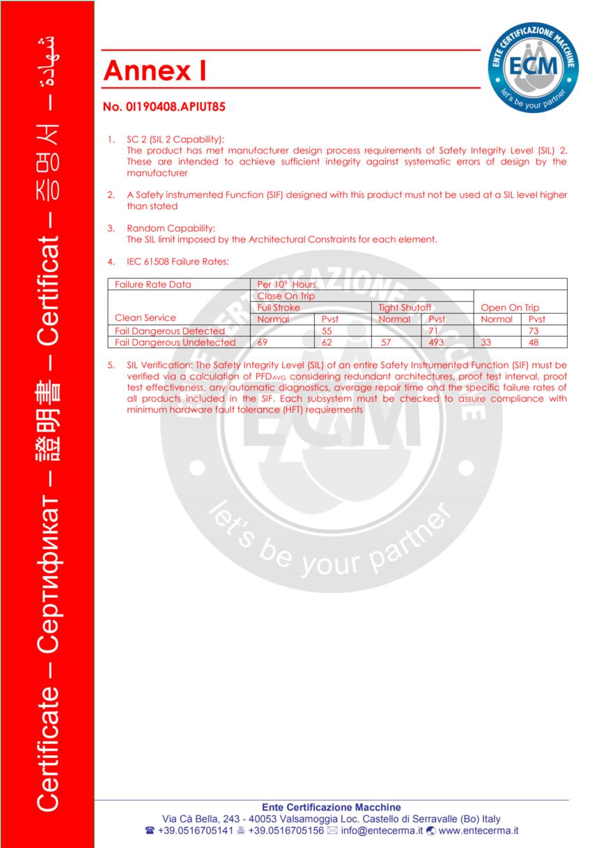 SIL2认证一体化防爆热电阻2