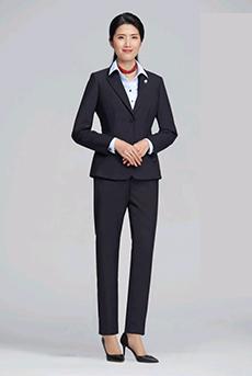 女式西服套装韩版修身正装职业装