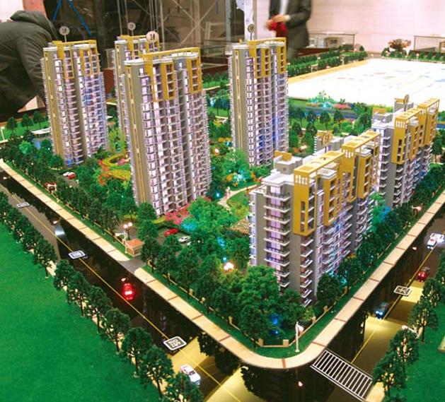 上海模型公司房地产沙盘模型