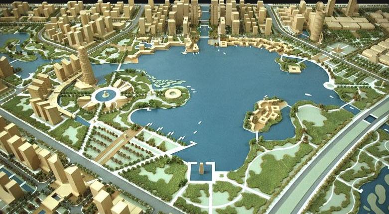 杭州赛杭建筑模型