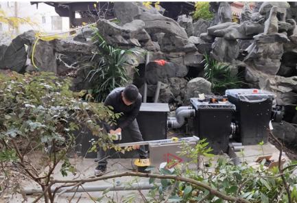 安装杭州锦鲤鱼池过滤系统