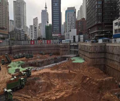 中央商務區項目基坑支護和降水工程