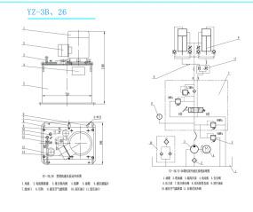贵州枫阳液压有限责任公司塔机系统用液压泵站YZ-25
