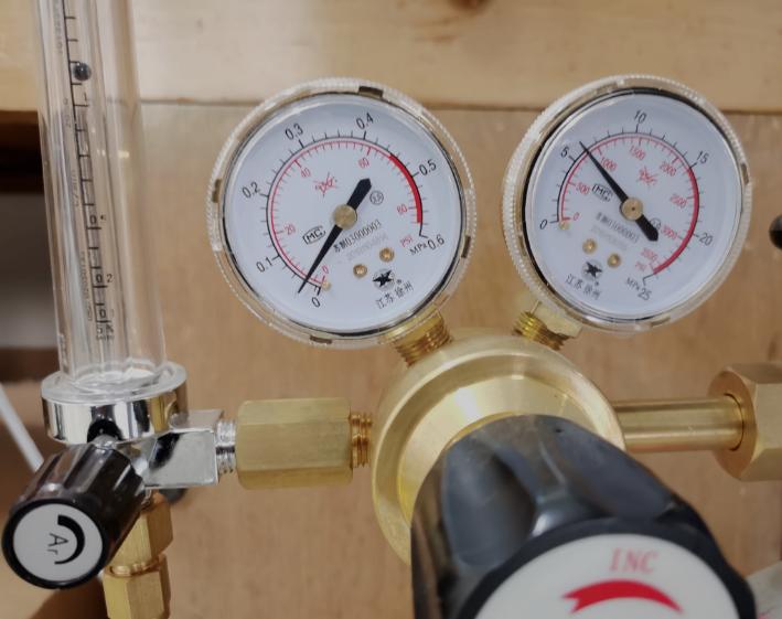 数据和标准气体基本一致