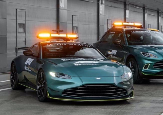 阿斯顿·马丁将承担新赛季F1官方安全车和医疗用车