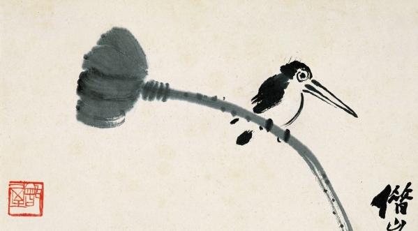 在中国的花鸟画技法中如何用笔与用墨
