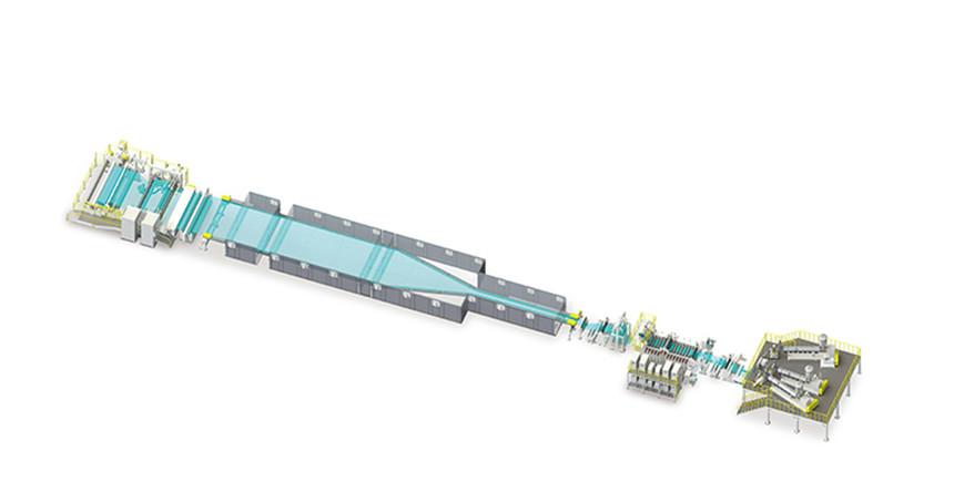 PVC双向拉伸收缩膜生产线