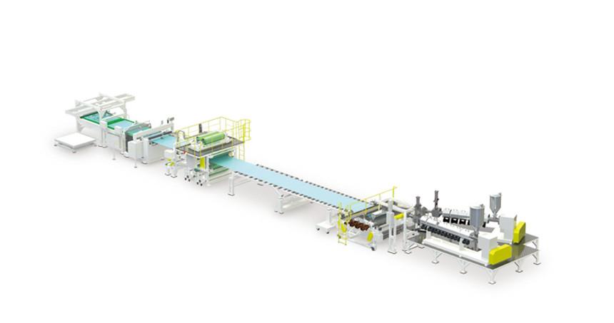 光学面板生产线
