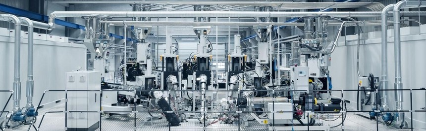 蒸发氧化硅阻隔包装膜生产线