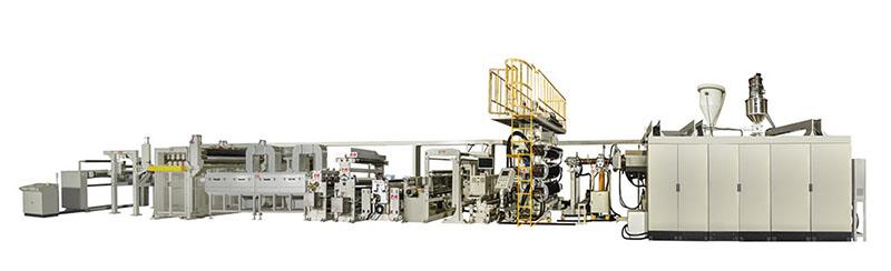 住野精工聚乙烯缠绕膜专用生产线