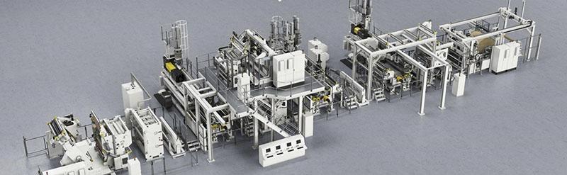 聚乙烯热收缩薄膜生产线