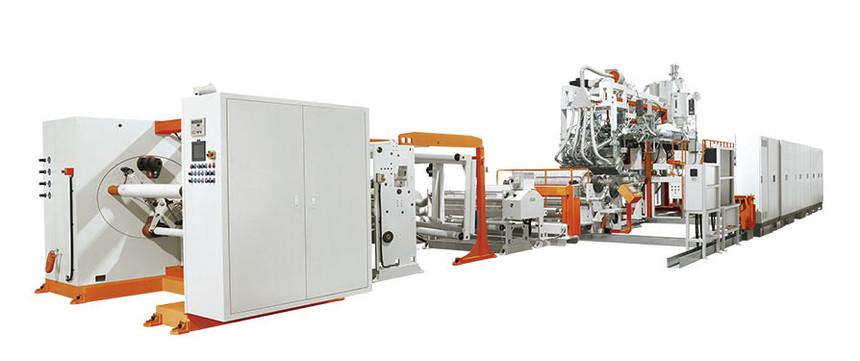 涂布型PVDC阻隔性包装薄膜生产线