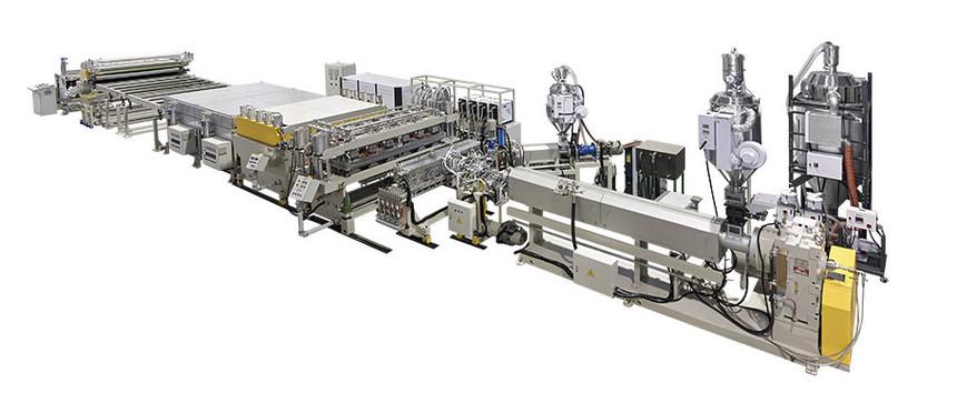 防静电薄膜生产线