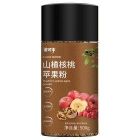 山楂苹果谷物粉