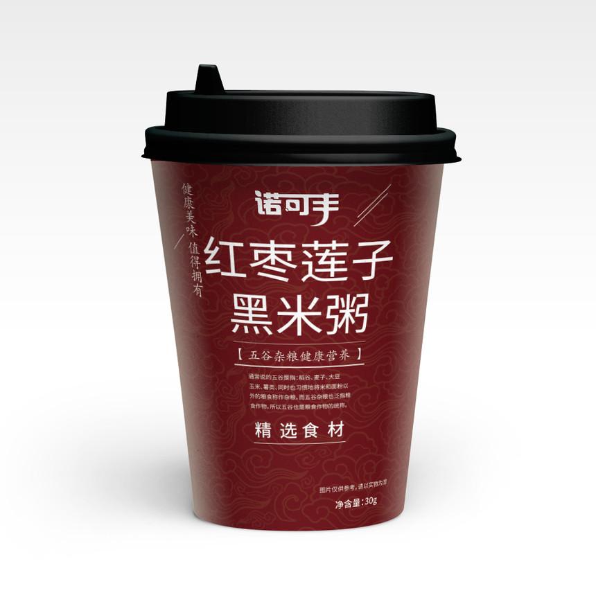 诺可丰-红枣枸杞黑米粥