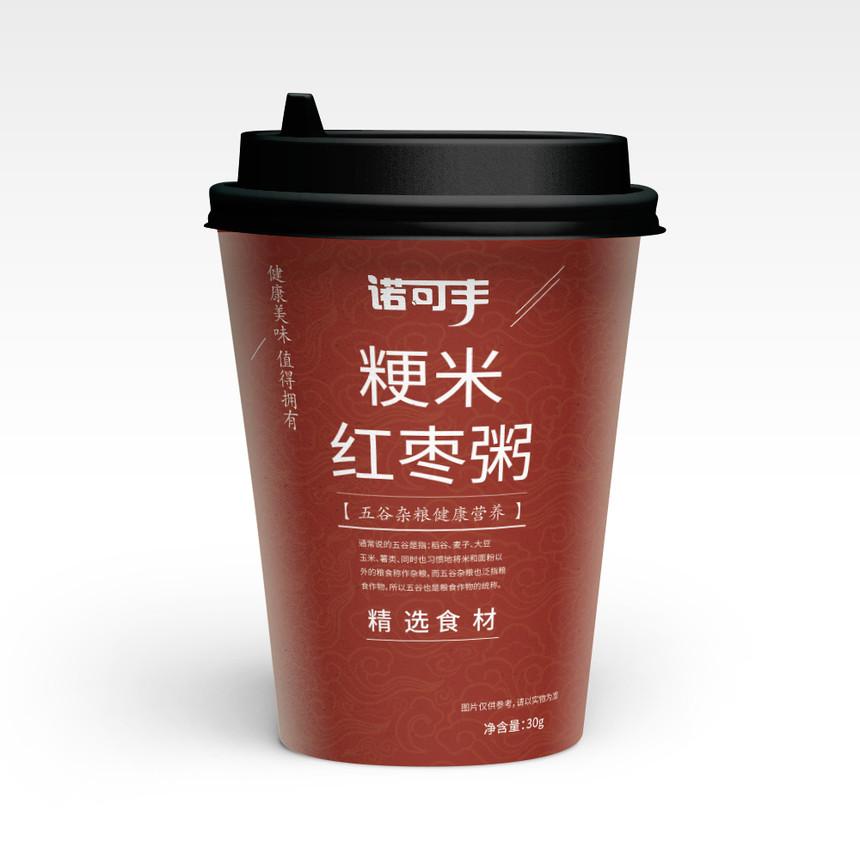 诺可丰-梗米红枣粥