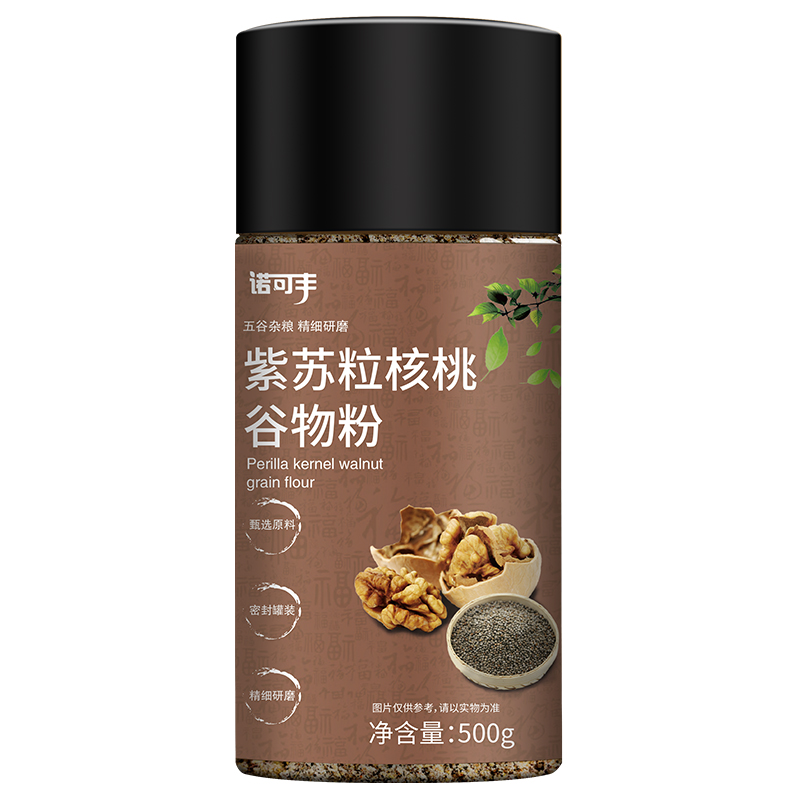諾可豐-紫蘇粒核桃谷物粉