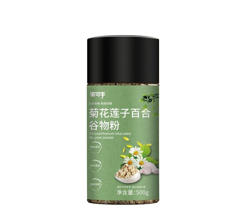 诺可丰-菊花莲子百合谷物粉