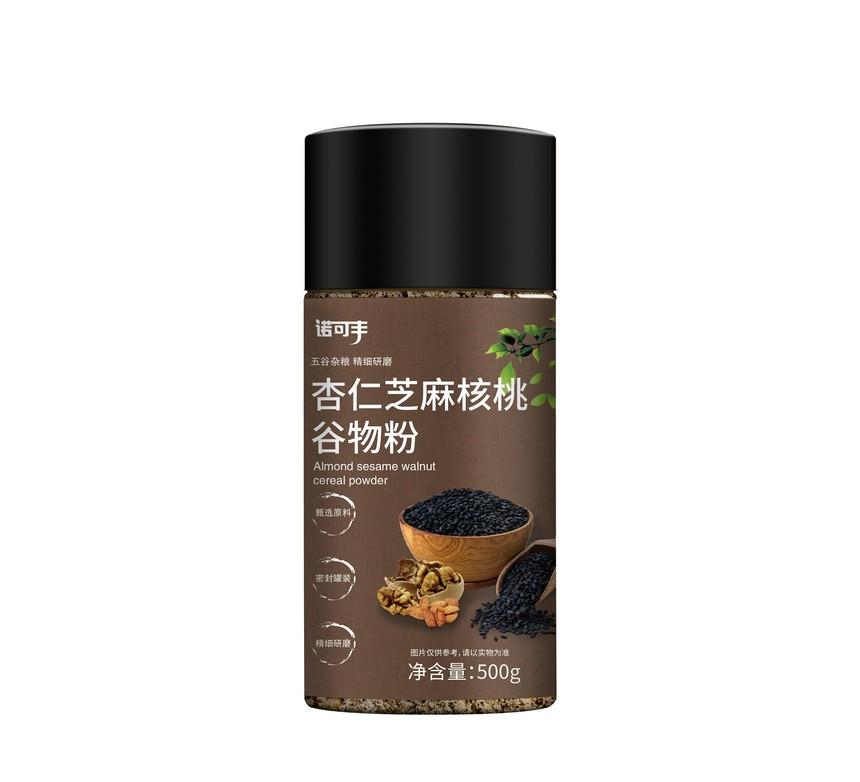 诺可丰-杏仁芝麻核桃谷物粉