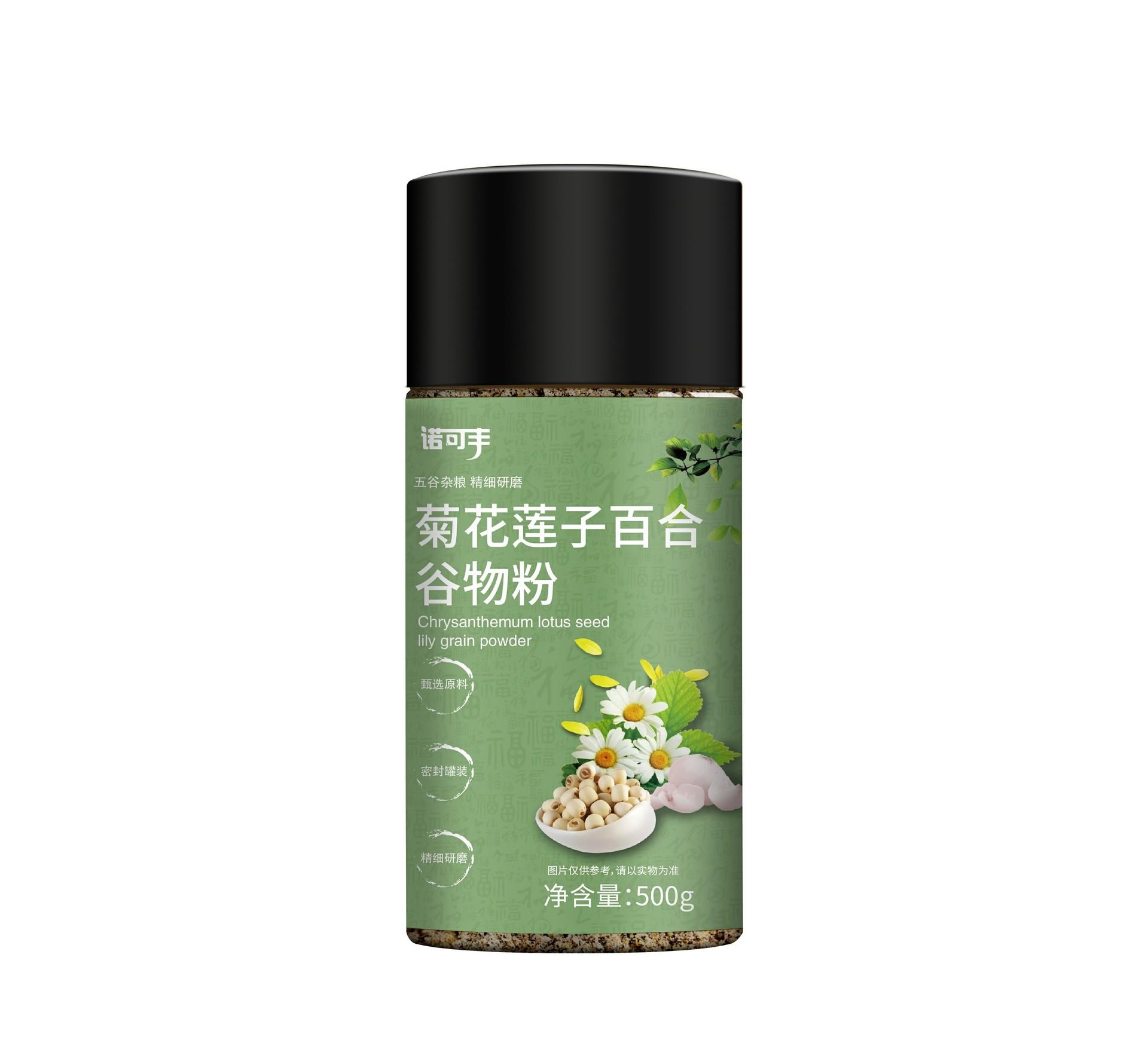 諾可豐-菊花蓮子百合谷物粉