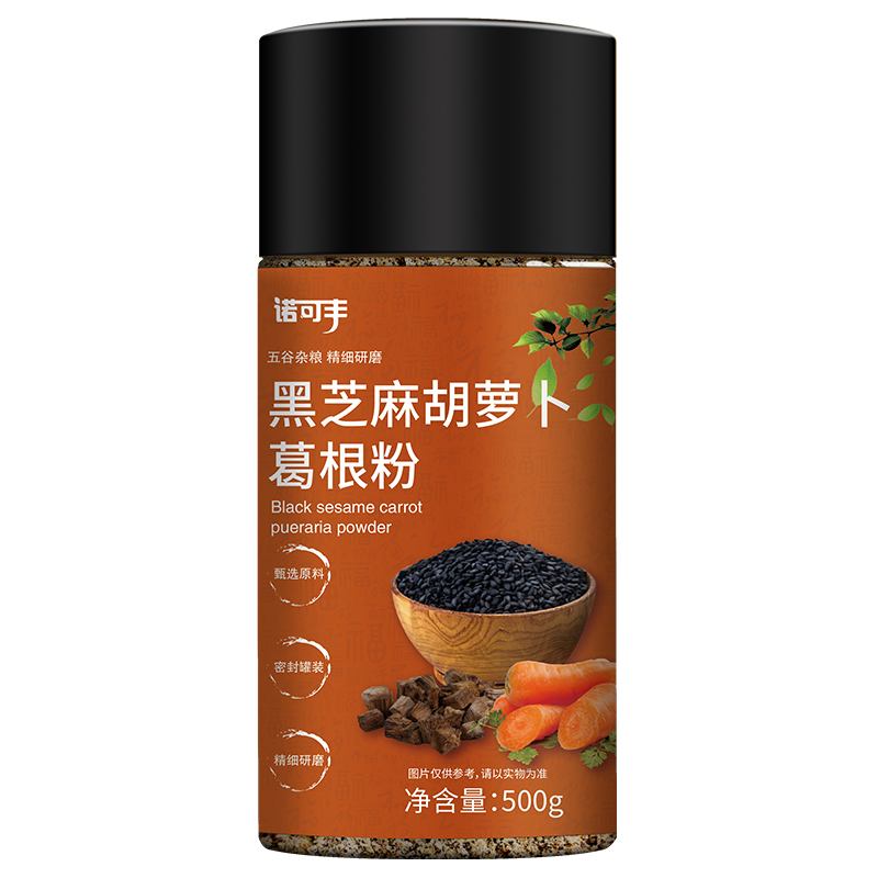 诺可丰-黑芝麻胡萝卜葛根粉