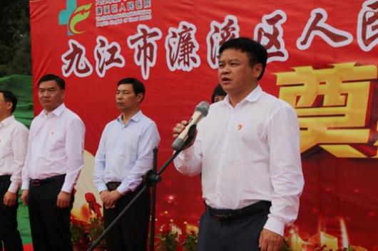 九江市六医院整体搬迁工程项目举行开工仪式