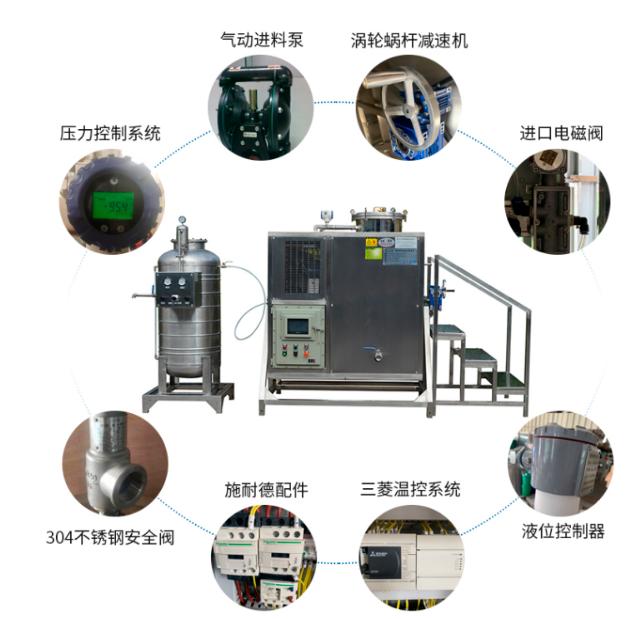 防爆溶剂回收机各部件功能解析