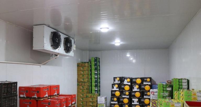 水果冷库安装