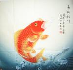 《国画鱼》