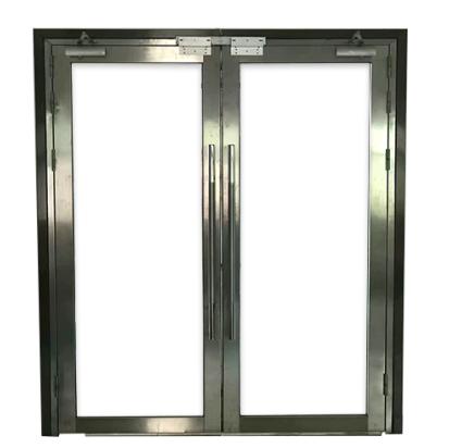 不銹鋼玻璃防火門