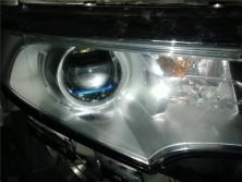 菏泽车灯改装,福特锐界改灯改装激光透镜