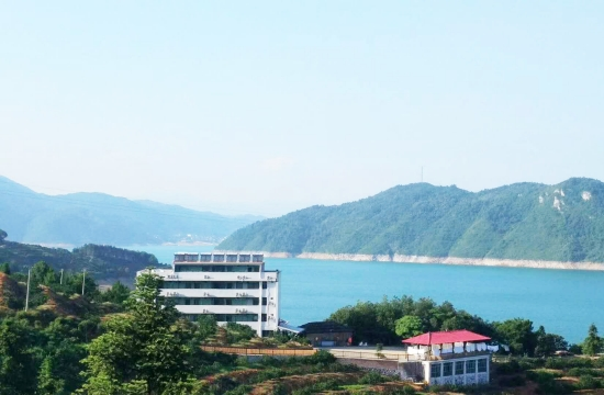 东江湖农家乐-方舟生态农庄(远景拍摄)