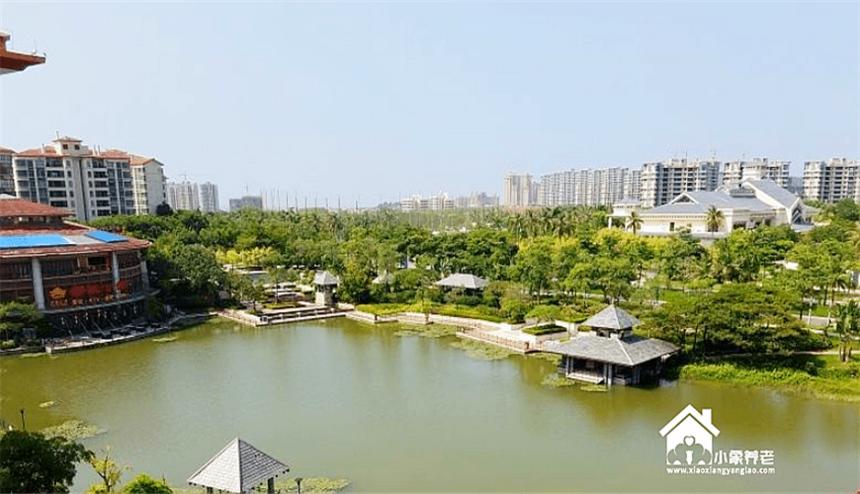 海南三亚清水湾雅居乐蔚蓝海岸湖畔高端度假酒店