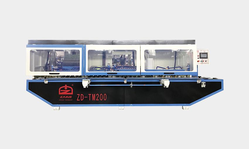 ZD-TM200 挡水条圆弧抛光机(新款)