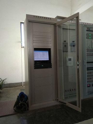 2015年與清源集團合作分布式光纖測溫系統項目