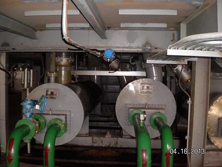 东海钢铁安装调试气体在线监测系统