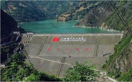甘肃碧口水电厂合作电缆测温系统项目